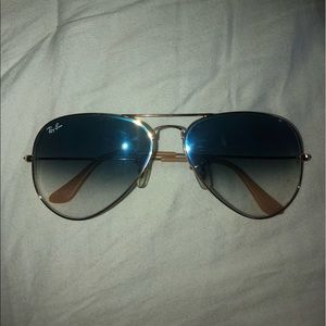 Blue Gradient Ray-Bans